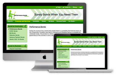 Bonds Direct Website - Before