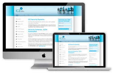 iC2 Website - Before