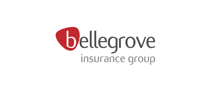 Logo design for insurance company Bellegrove by agency Pad Creative