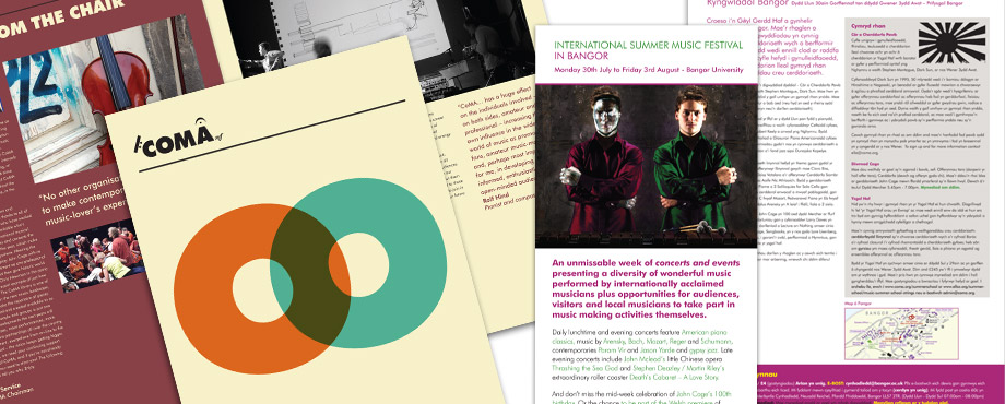 Report designed by Pad Creative for Contemporary Music for All