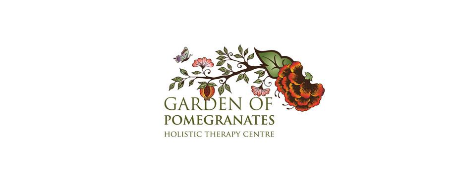 Logo design for Garden of Pomegranates by creative company Pad