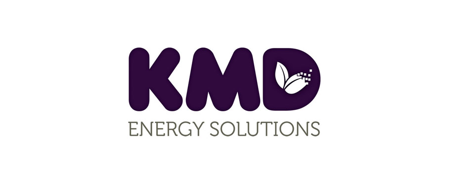 Logo design for KMD by creative agency Pad