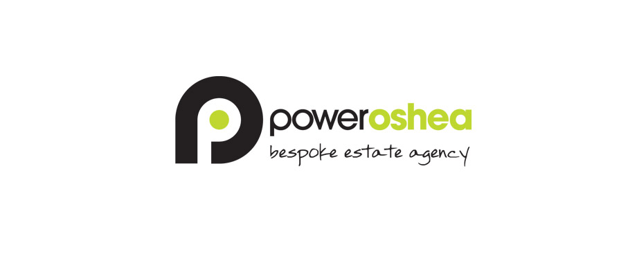 Logo designed for PowerOShea by creative agency Pad