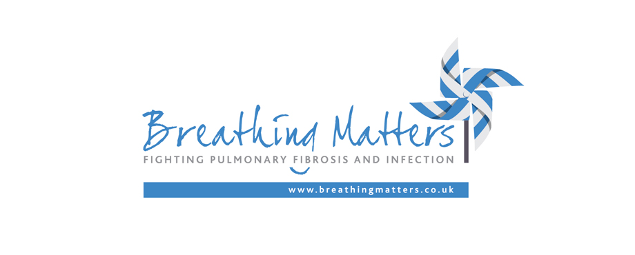 Logo design by Pad Creative for Breathing Matters