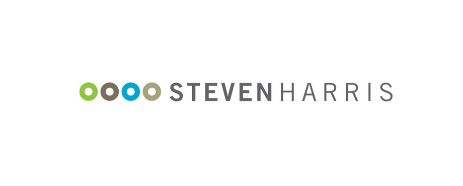 Steven Harris logo design by agency Pad Creative