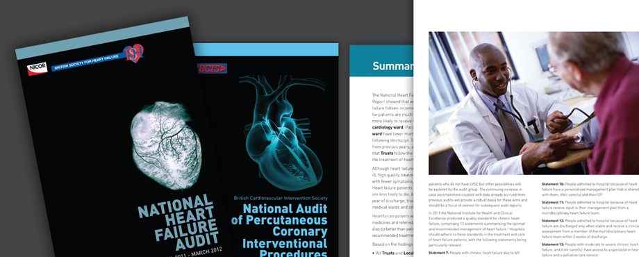 Annual report designed for University College London by creative agency Pad