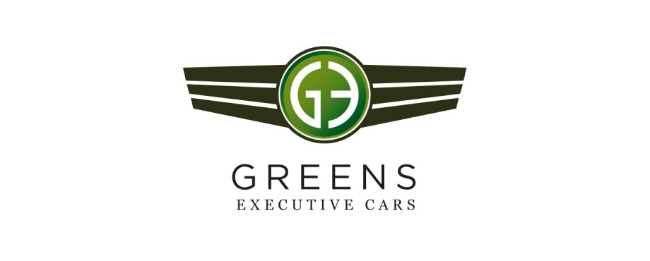 Logo design for Greens Executive Cars by creative company Pad