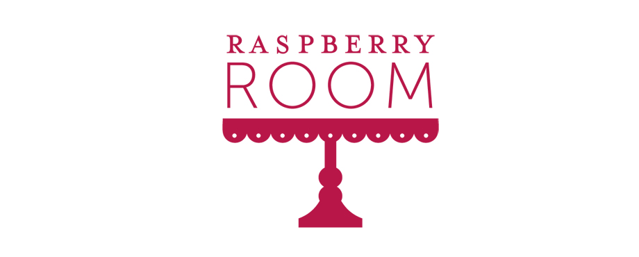 Logo design for The Raspberry Room by agency Pad Creative