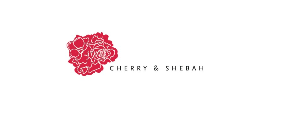 Logo created for Cherry and Shebah by Pad Creative