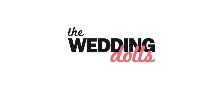 Logo design for The Wedding Dolls by creative agency Pad