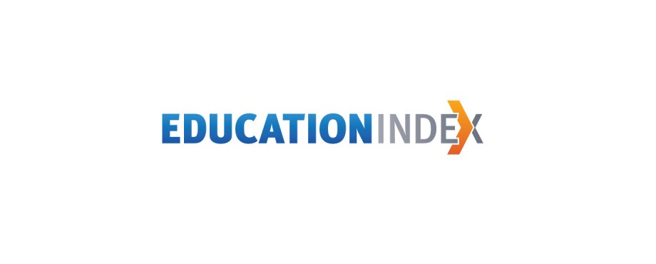Logo designed for Education Index by creative company Pad