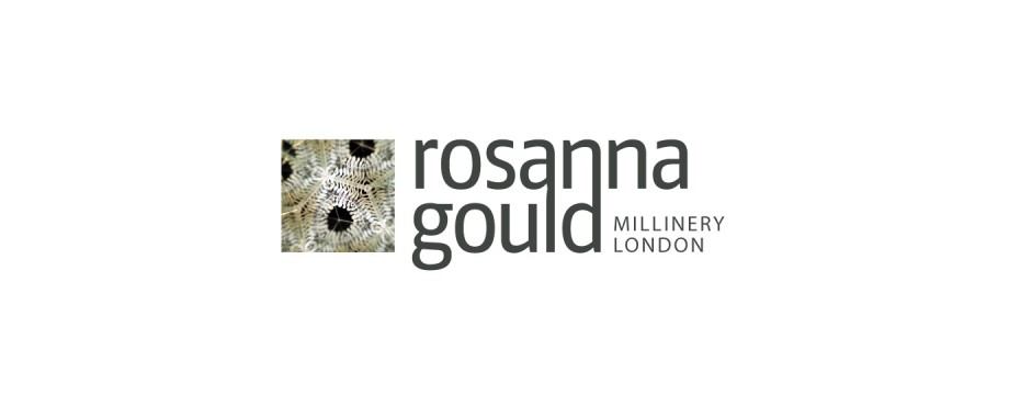 Rosanna Gould Millinery logo design by Pad Creative