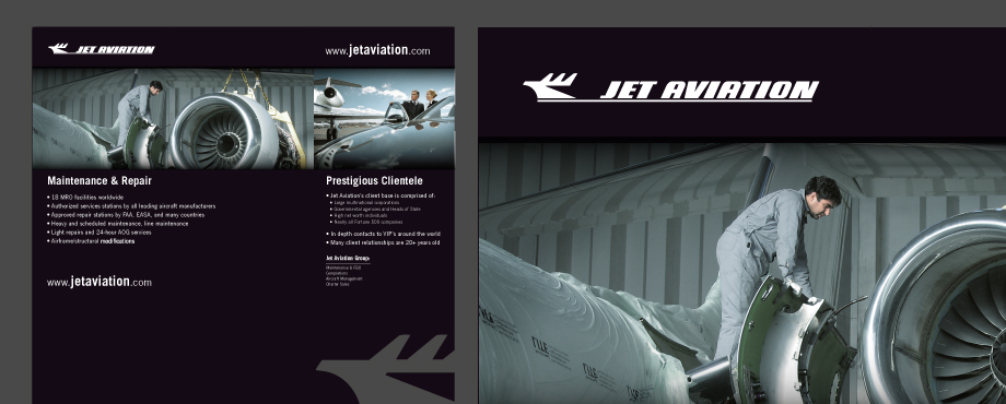 Pad Creative designed this Flexestand for Jet Aviation