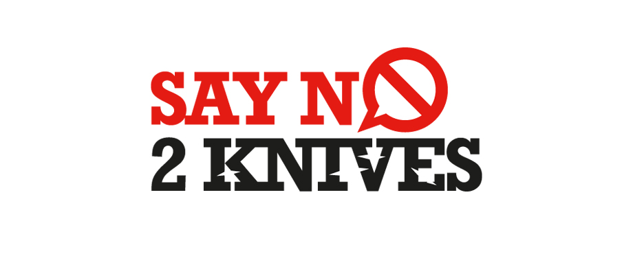 Say No To Knives logo design by creative company Pad