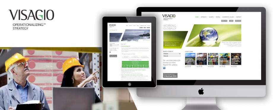 Visagio website design and development by Pad Creative