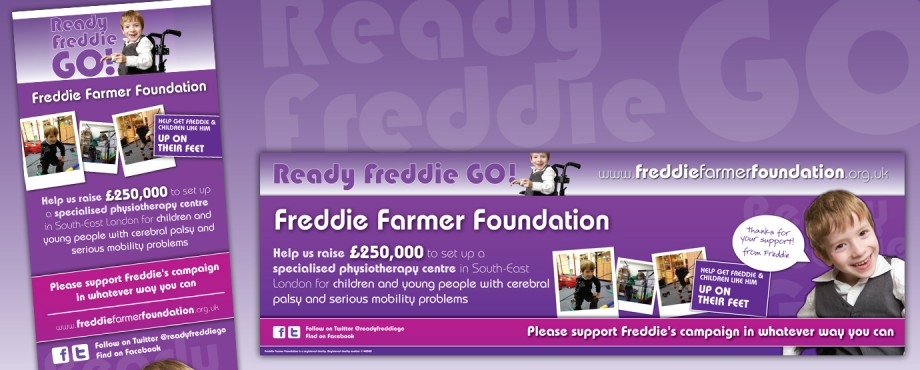 Poster created for Freddie Farmer by design company Pad