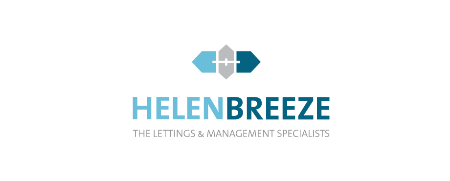 Helen Breeze Property Management logo designed by Pad Creative