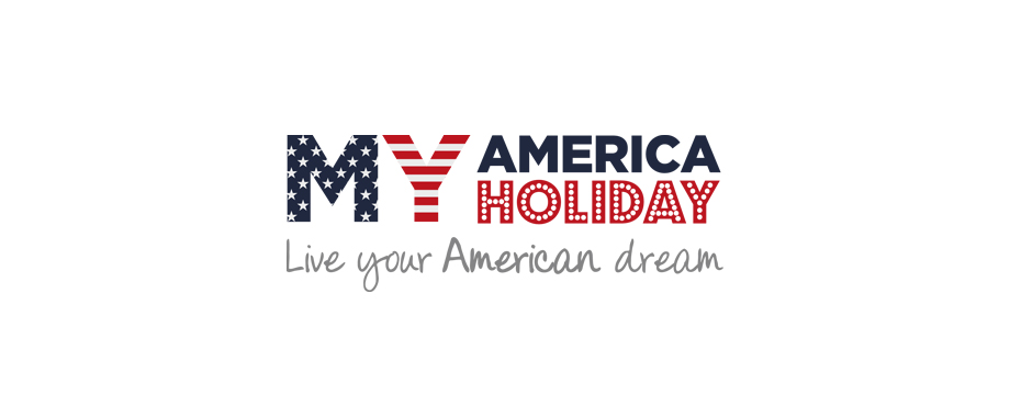 Logo design for My America Holiday by agency Pad Creative