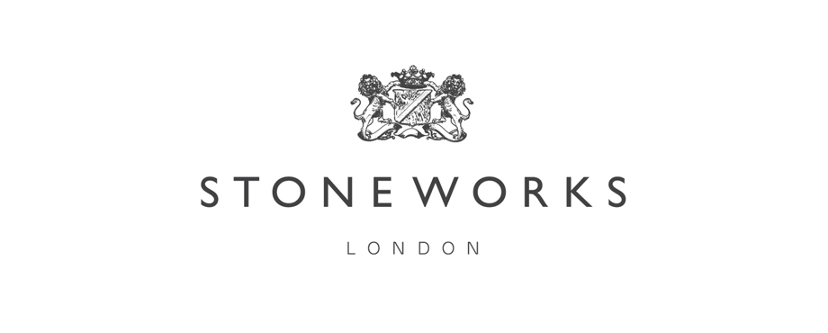 Logo design by agency Pad Creative for Stoneworks London