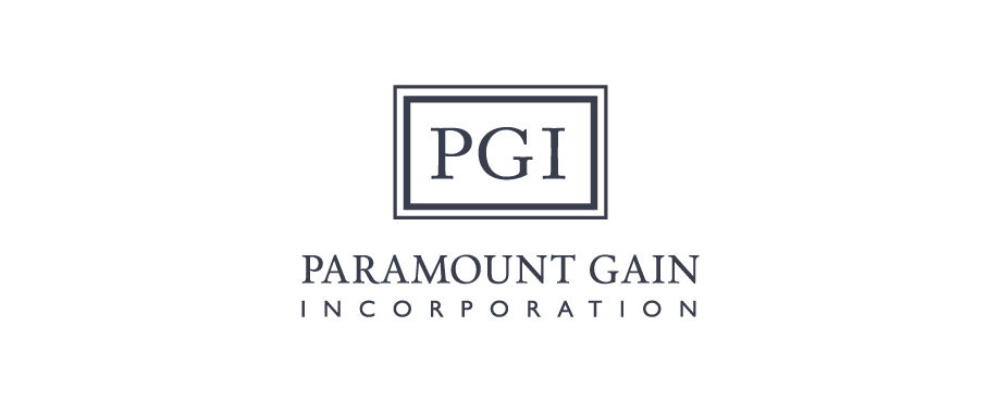 Paramount Gain logo design by creative company Pad
