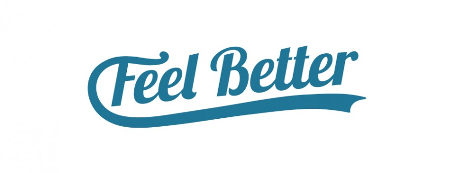Logo design for Feel Better by branding specialists Pad Creative