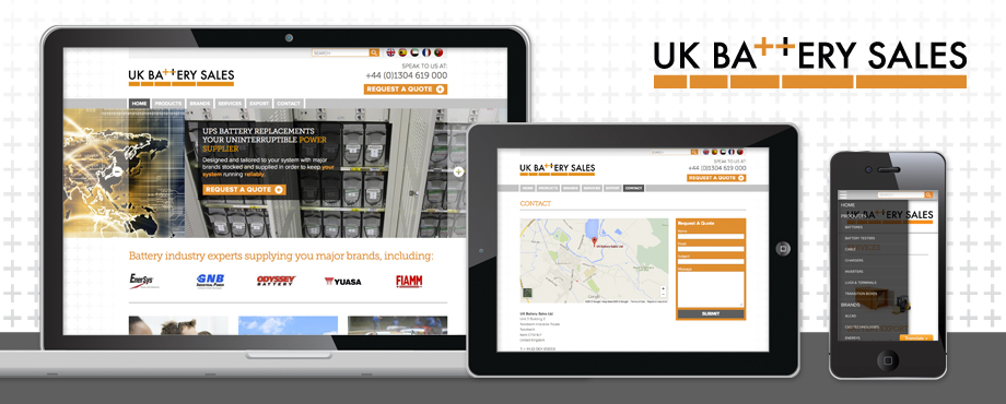 UK Battery Sales Website