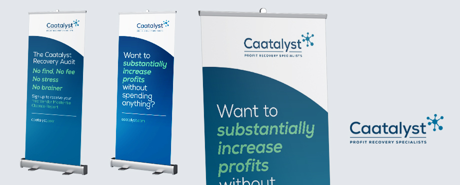 Exhibition stand for Caatalyst design by Pad