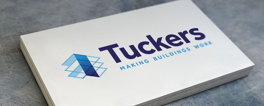 Logo design for Tuckers by branding agency Pad