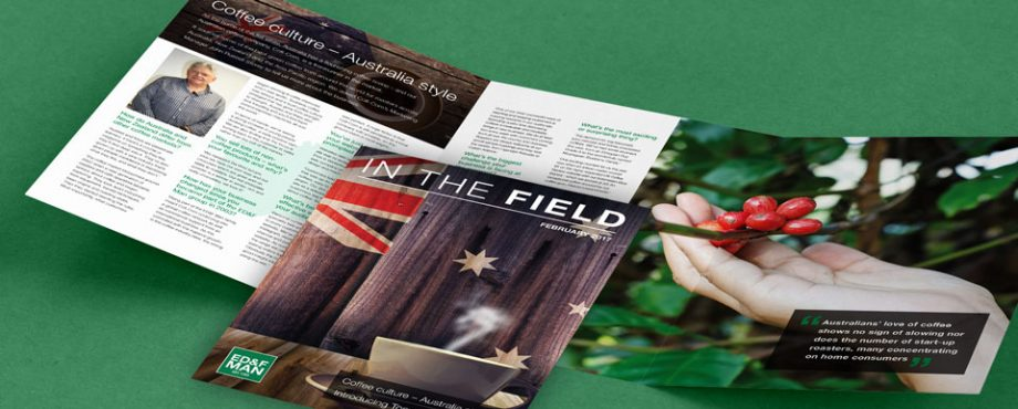 ED&F Man Newsletter - In The Field designed by Pad Creative
