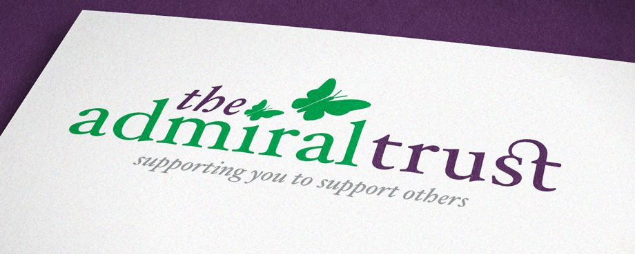 Logo designed for Admiral Trust by branding agency Pad Creative