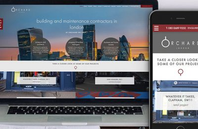 Orchard Building Solutions Website