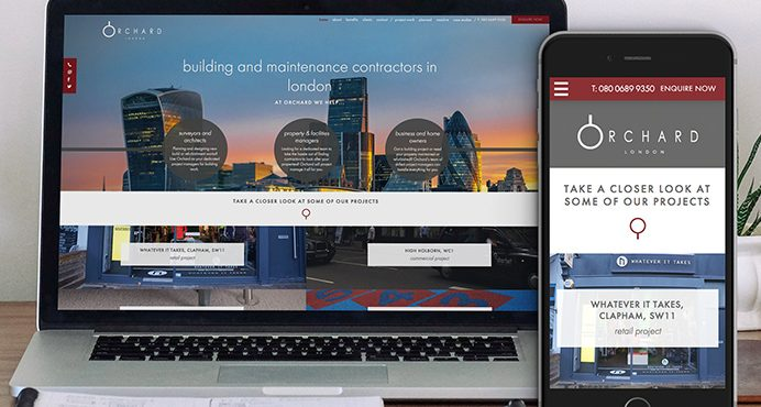 Orchard Building Solutions Website Design and Build