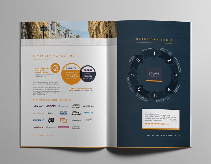 Brochure hits the mark for Parr London