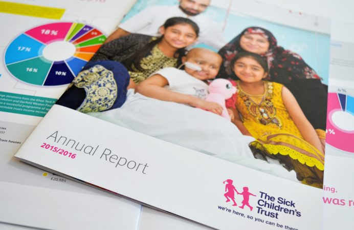 Sick Childrens' Trust Annual Report