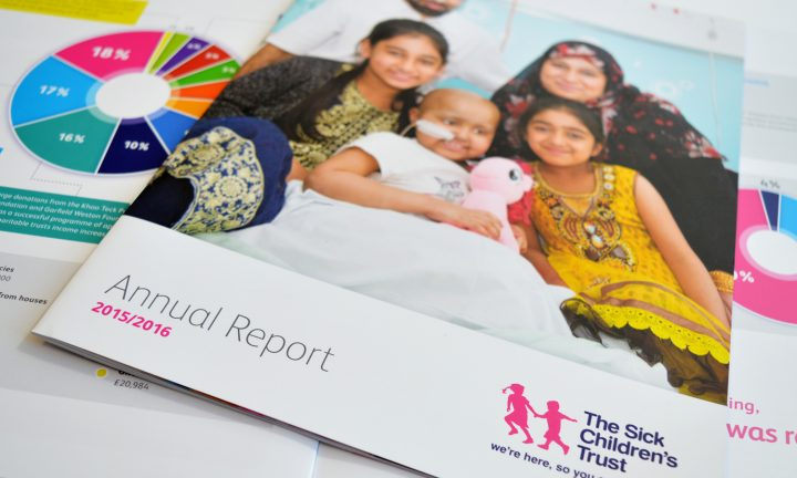 Sick Childrens' Trust Annual Report