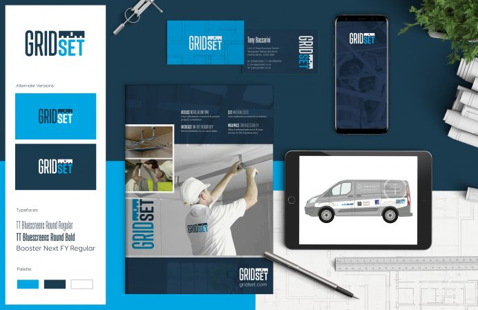 Gridset Brand Design by Pad