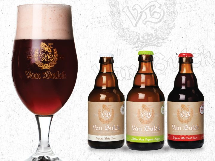 Brand Design in London - Van Bulck Beer Brand and Label Design