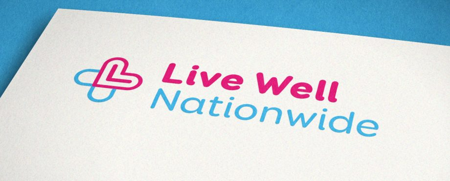 Live Well Nationwide logo design