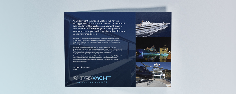 Superyacht Insurance Print