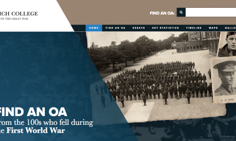 War website brings history to life