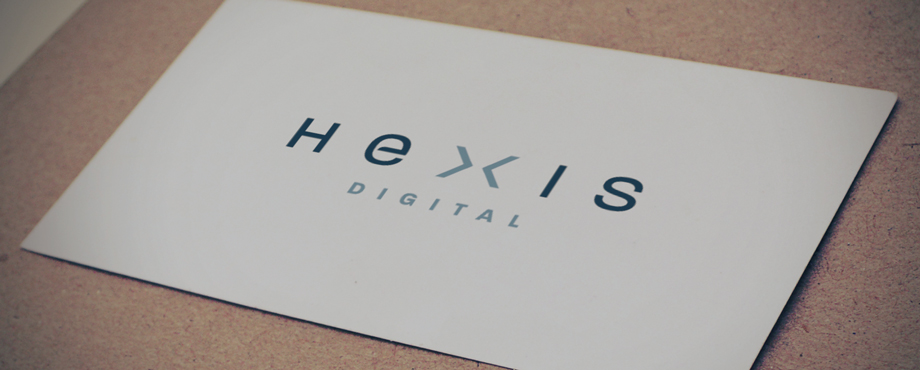 Hexis Digital logo designed by Creative Agency Pad Creative