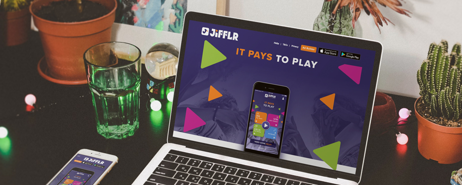 Jifflr website designed and built by Pad Creative
