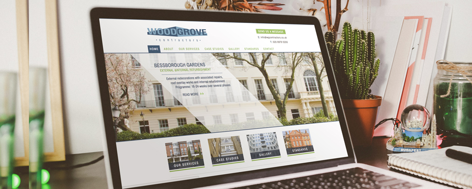 Woodgrove website designed and built by Pad Creative