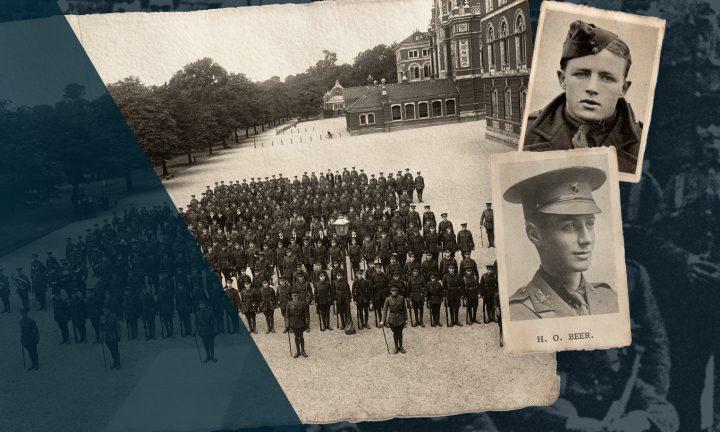 Dulwich College Fallen of the Great War website - Hero