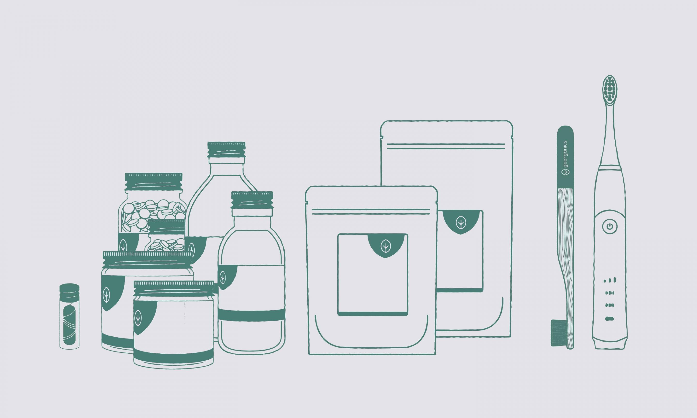 GEOrganics packaging design - schematics