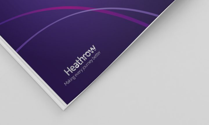 Heathrow brochure design