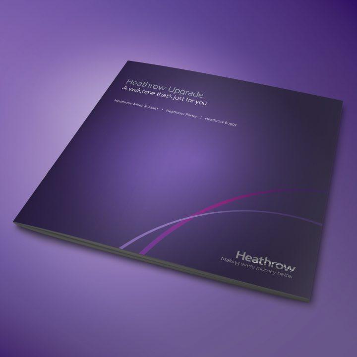 Heathrow Airport Brochure Design