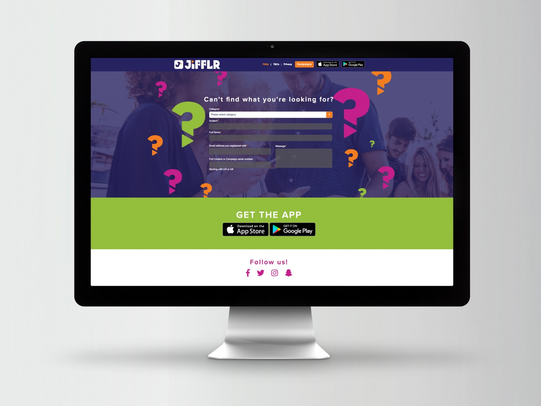 Jifflr Website Design - FAQ
