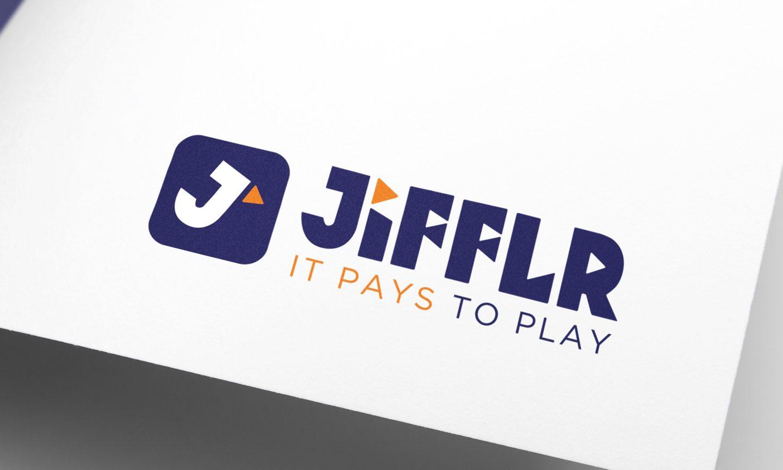 Jifflr logo design