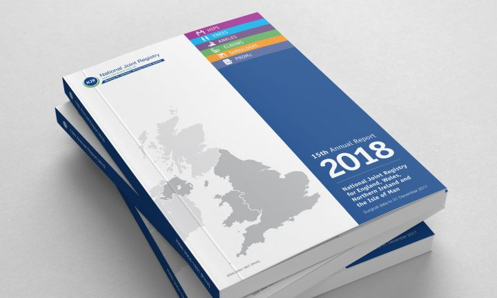 National Joint Registry annual report design cover